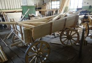 Описание этапов процесса изготовления конной телеги своими руками