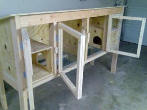 Гнездо для крольчихи