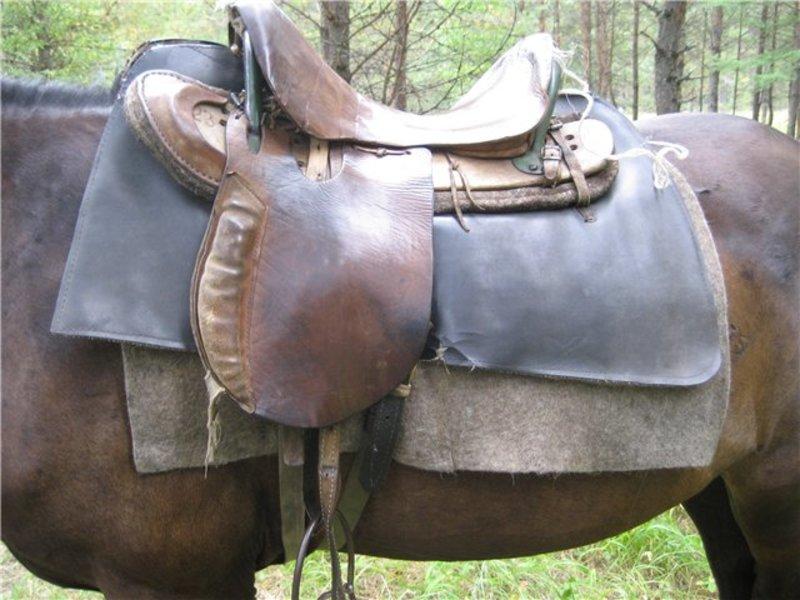 Как сделать седло лошадь