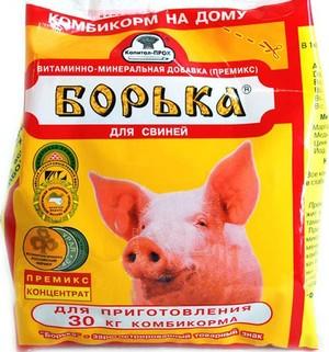 Стимуляторы роста в виде БМВД для свиней, особенности кормовых добавок и премиксов для животных