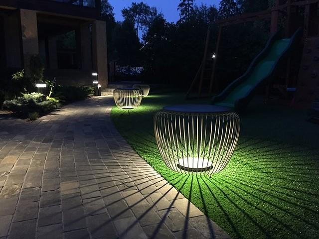 Как спланировать освещение на дачном участке